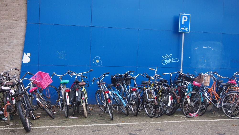 Wall Of Bicycles